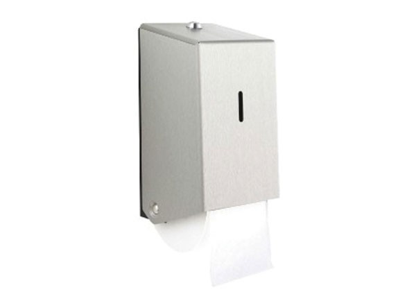 2 roll lockable toilet tissue dispenser
