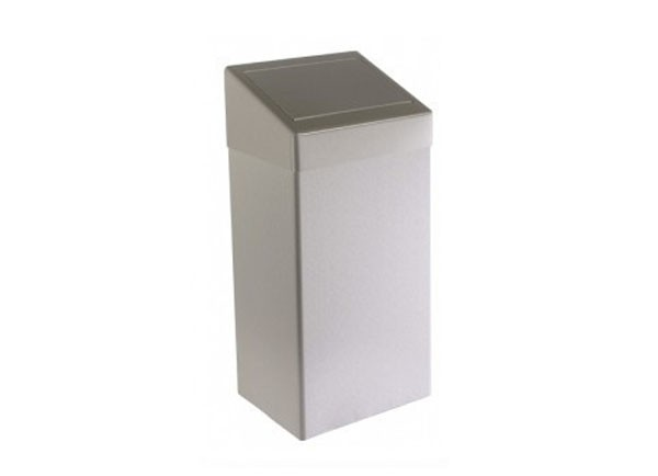 SS/84530SS Brushed waste bin - 50 litres