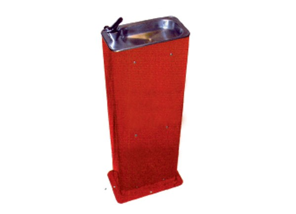 SS16249/FS Coloured Floor Standing Drinking Fountain