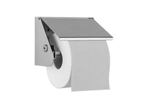 SS/WP148 Luxury lockable toilet roll holder