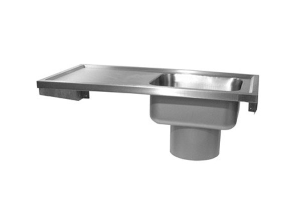 SS/PSD/L/R Plaster Sink with Drainer
