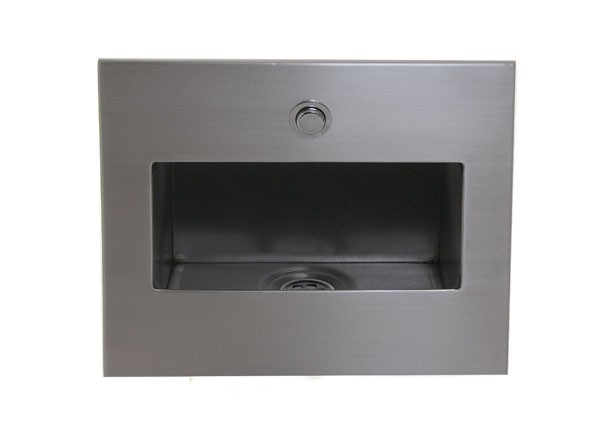 SS/RB Recessed Hand Rinse Unit