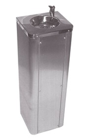 SS/6282/FSR Floor standing drinking fountain