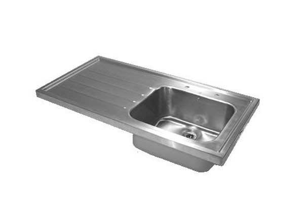 SS1260/L Sink Unit with Drainer