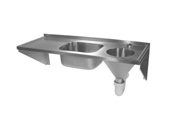 SS/SHS 1600 X 600 Sink/Disposal Hopper