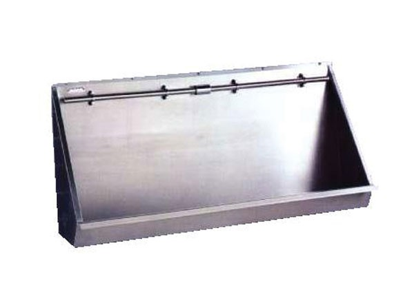 SSW4440/CP Stainless Steel Wall Mounted Trough Urinal