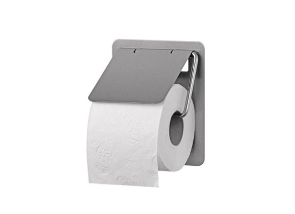 SS/TRU1 E/P Toilet Roll Holder - Single