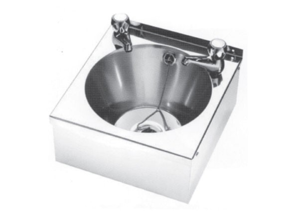 W-1/2 Wash Basin with two tap holes