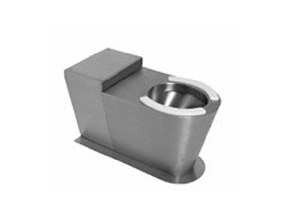 SS/WC8800/S W.C. Pan with Rear Extension